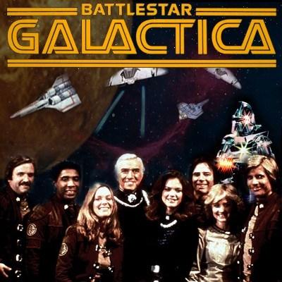B: Battlestar Galactica (the original)