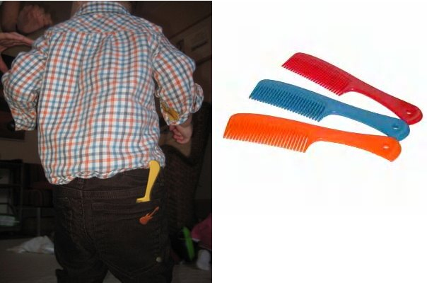back pocket combs