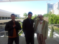 Three wayward Time Lords