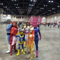 Some awesome looking cosplayers...