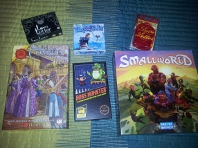 The games we picked up.